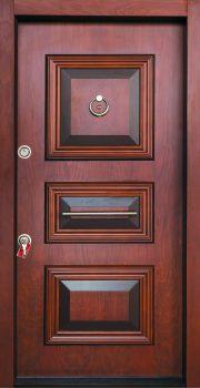 درب ضد سرقت تمام پانل کتیبه دار 804