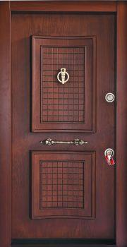 درب ضد سرقت تمام پانل کتیبه دار 807