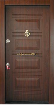 درب ضد سرقت تمام پانل کتیبه دار 811