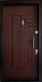 درب ضد سرقت تمام پانل برجسته 823