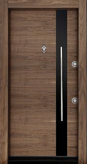 درب ضد سرقت کریستال کد 6105