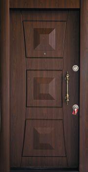 درب ضد سرقت تمام پانل کتیبه دار 808
