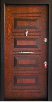 درب ضد سرقت تمام پانل برجسته 812