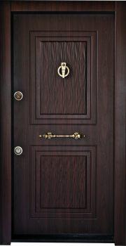 درب ضد سرقت تمام پانل برجسته کتیبه دار 818
