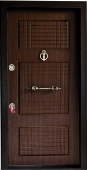 درب ضد سرقت تمام پانل برجسته 820
