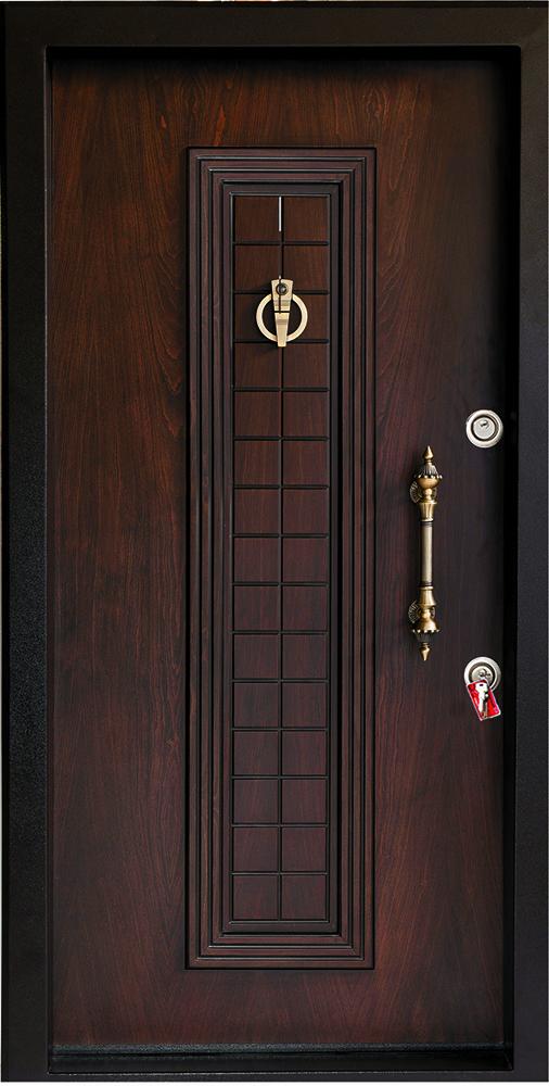 درب ضد سرقت تمام پانل برجسته 821