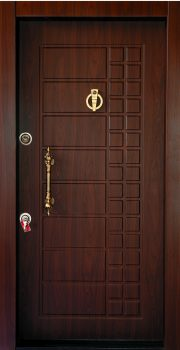 درب ضد سرقت تمام پانل کتیبه دار 826