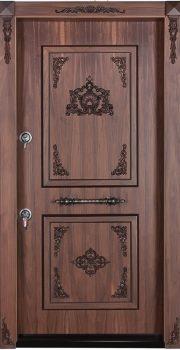 درب ضد سرقت تمام پانل منبت کاری شده 865